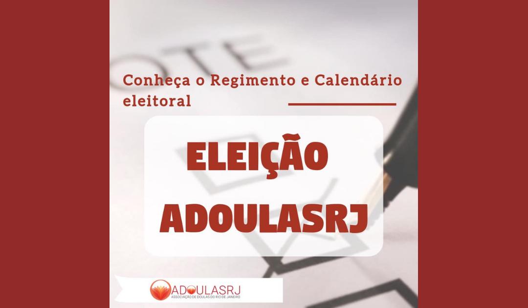 Conheça o Regimento e Calendário Eleitoral 2019